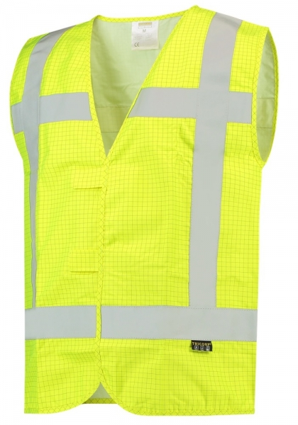 TRICORP-Warnweste RWS, Flammschutz, Basic Fit, 200 g/m², yellow