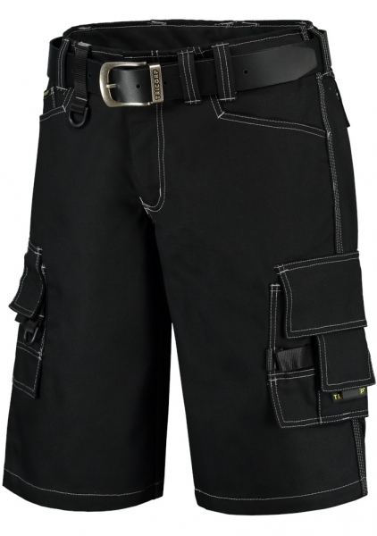 TRICORP-Arbeitshose Canvas Shorts, Basic Fit, 300 g/m², black
