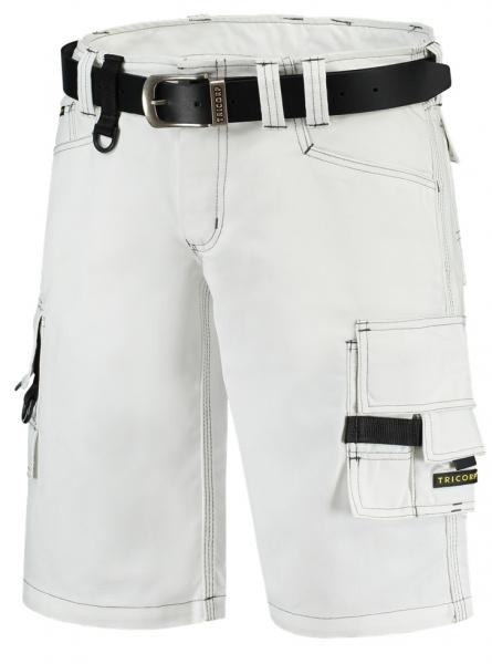 TRICORP-Arbeitshose Canvas, Arbeits-Berufs-Shorts, Basic Fit, 300 g/m², weiß