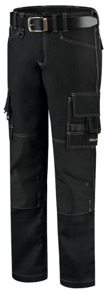 TRICORP-Arbeits-Berufs-Bund-Hose, Canvas Cordura-Besatz, Basic-Fit, 300 g/m², black