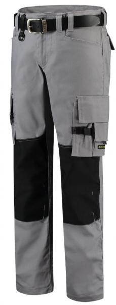 TRICORP-Arbeits-Berufs-Bund-Hose, Canvas Cordura-Besatz, Basic-Fit, 300 g/m², grey-black