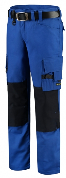 TRICORP-Arbeits-Berufs-Bund-Hose, Canvas Cordura-Besatz, Basic-Fit, 300 g/m², royalblue-navy
