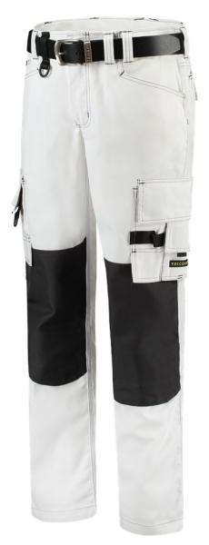 TRICORP-Arbeits-Berufs-Bund-Hose, Canvas Cordura-Besatz, Basic-Fit, 300 g/m², white/darkgrey
