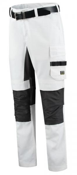 TRICORP-Maler-Bundhose, Twill Cordura Stretch, 245 g/m², white-darkgrey
