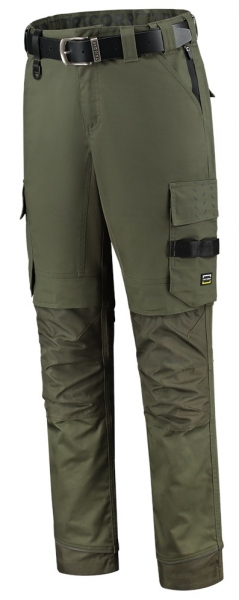TRICORP-Arbeits-Berufs-Bund-Hose, Twill Cordura-Stretch, Basic Fit, 280 g/m², army