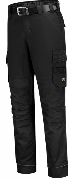 TRICORP-Arbeits-Berufs-Bund-Hose, Twill Cordura-Stretch, Basic Fit, 280 g/m², black