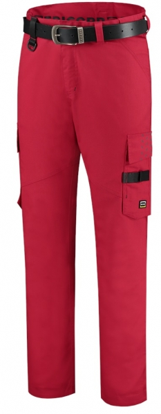 TRICORP-Arbeits-Berufs-Bund-Hose, Twill, Basic Fit, 245 g/m², red