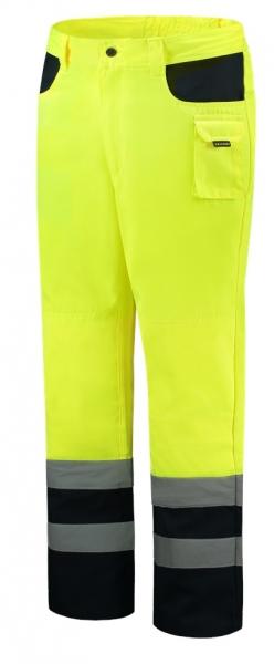 TRICORP-Arbeits-Berufs-Bund-Hose, EN ISO 20471, Bicolor, Basic Fit, 280 g/m², fluor yellow-navy