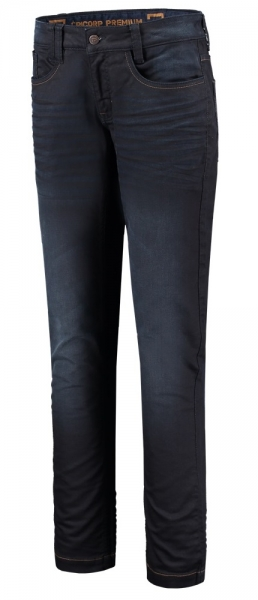 TRICORP-Damen-Jeanshose, Stretch, 280 g/m², denimblue