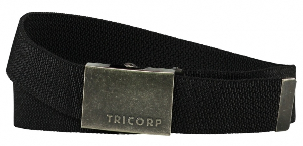 TRICORP-Gürtel Stretch, Basic Fit, black