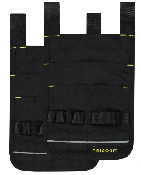 TRICORP-Holstertaschen Cordura, Basic Fit, 55 g/m², black