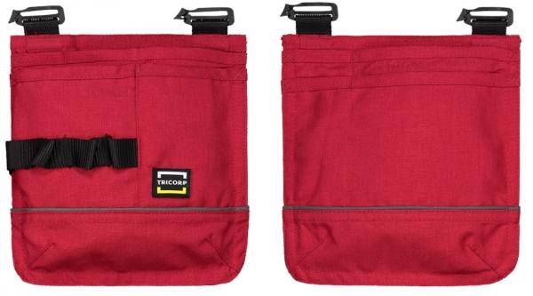 TRICORP-Swing-Pocket Gürteltasche, Basic Fit, 210 g/m², red