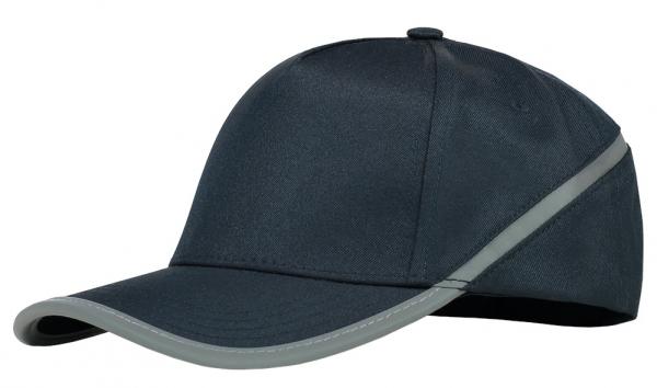 TRICORP-Cap Reflexstreifen, Basic Fit, navy