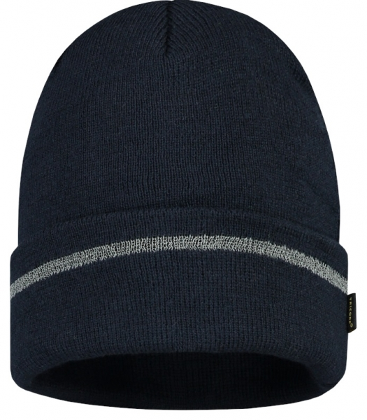 TRICORP-Mütze Reflexstreifen, Basic Fit, navy