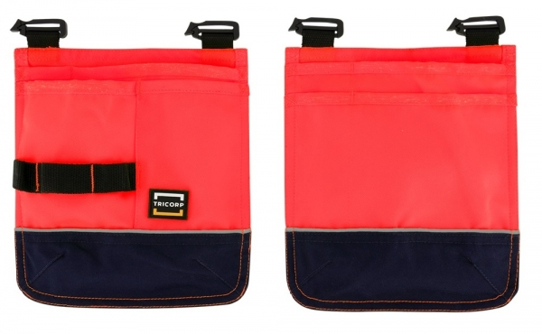 TRICORP-Holstertaschen, Basic Fit, 280 g/m², red-ink