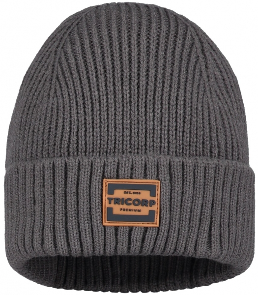 TRICORP-Winter-Mütze, Premium, stonemel