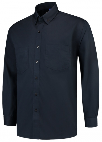 TRICORP-Casual-Arbeits-Berufs-Hemd, Langarm Basis, Basic Fit, 150 g/m², navy