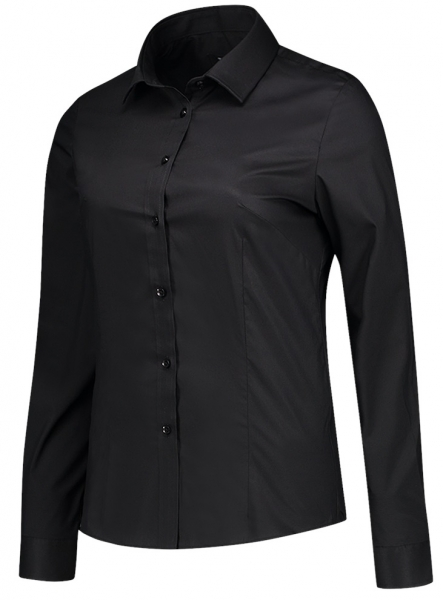 TRICORP-Arbeits-Berufs-Bluse, Stretch, Basic Fit, 110 g/m², black