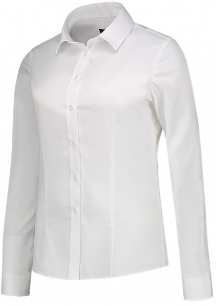 TRICORP-Arbeits-Berufs-Bluse, Stretch, Basic Fit, 110 g/m², weiß