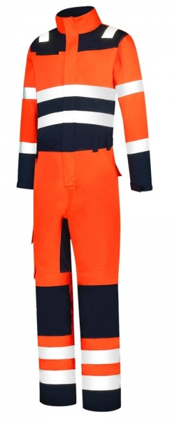 TRICORP-Overall, Bicolor, Basic Fit, 280 g/m², orange-ink