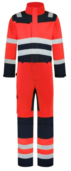 TRICORP-Overall, Bicolor, Basic Fit, 280 g/m², red-ink