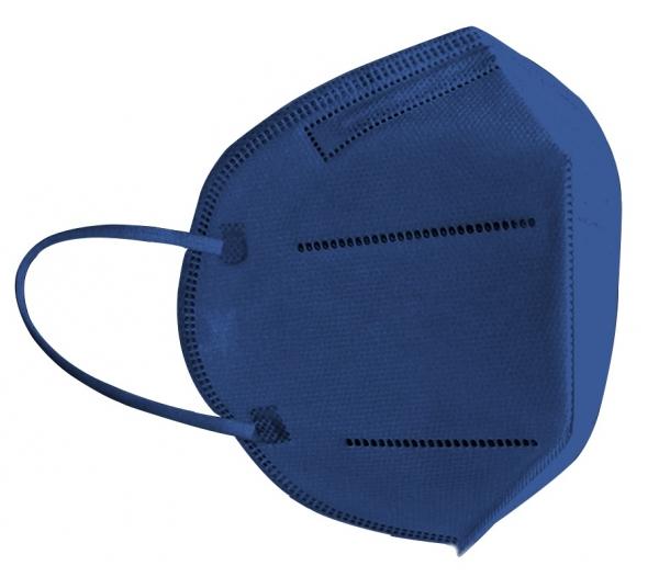 FFP2 Atemschutzmaske Komfort2, 6er, Made in Germany, dunkelblau