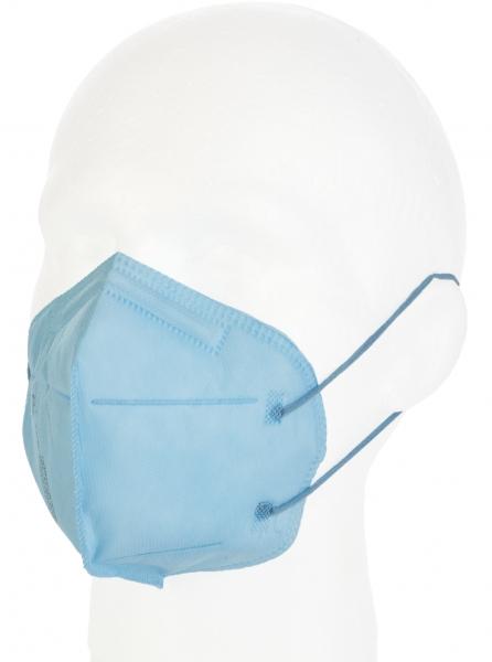 FFP2 Atemschutzmaske Komfort2, 6er, hellblau