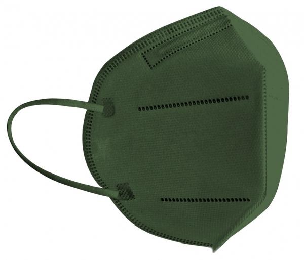 FFP2 Atemschutzmaske Komfort2, 6er, Made in Germany, olive