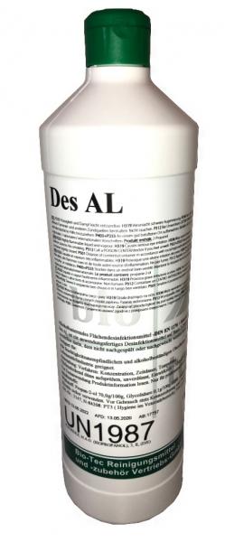 BIO-TEC-Des AL, Flächendesinfektion-Desinfektionsmittel 1000ml