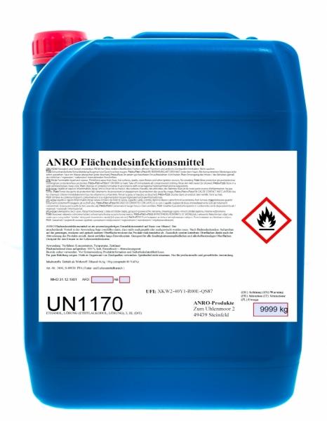BIO-TEC-Anro Desinfektionsmittel-Flächendesinfektionsmittel, 10 ltr.