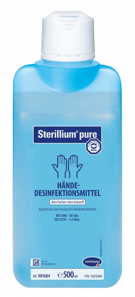 HARTMANN-Sterilium Pure HD, Händedesinfektion, 500 ml