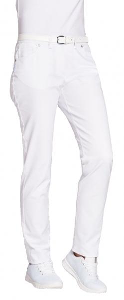 LEIBER-Damen-Jeanshose, weiß