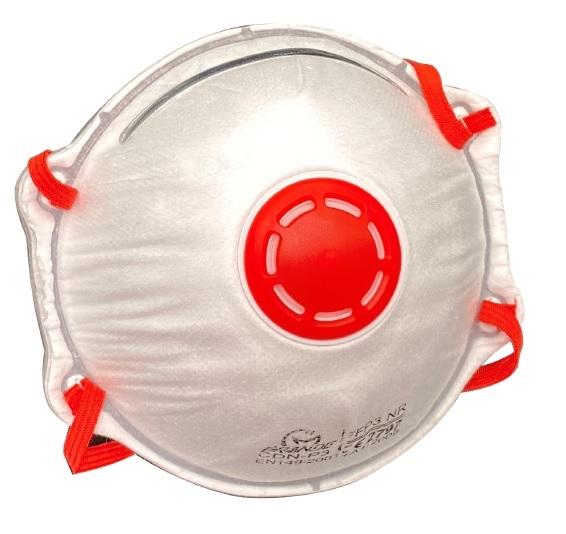SIR-Einweg-Atemschutzmaske, FFP3 NR, weiß
