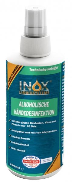 INOX Alkoholische Händedesinfektion für Hände, 100ml