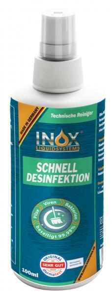 INOX Schnell Desinfektion für Oberflächen, 100 ml