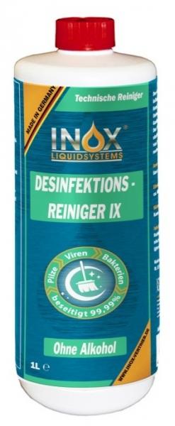 INOX Desinfektionsreiniger IX, 1 Liter