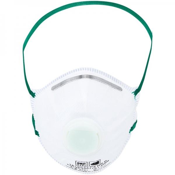 Atemschutzmaske FFP2 mit Ventil, Pkg. á 10 Stück
