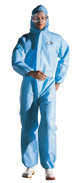 SIR-Chemikalienschutzoverall, MC3412N0 Chemstat, hellblau