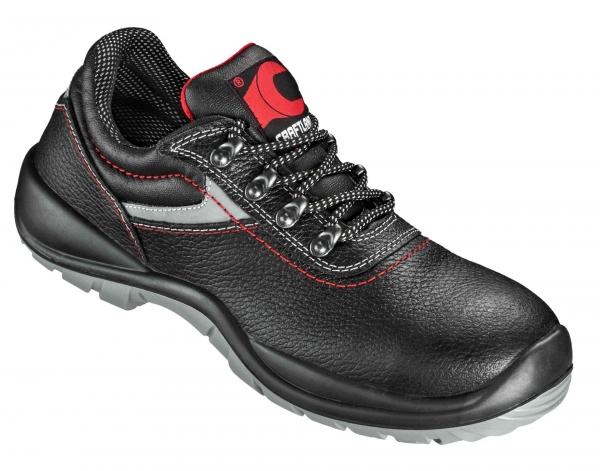 F-S3-CRAFTLAND-Sicherheits-Arbeits-Berufs-Schuhe, Halbschuhe, *BERGEDORF NUOVO*, schwarz