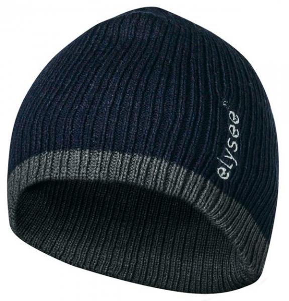 FELDTMANN Thinsulate-Winter-Mütze, FELIX, marine/grau abgesetzt