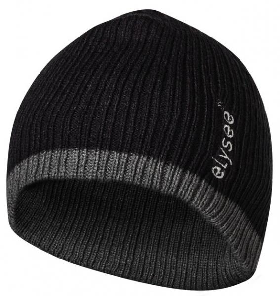 FELDTMANN PSA-Kopfschutz, Thinsulate-Winter-Mütze, OLE, schwarz/grau abgesetzt
