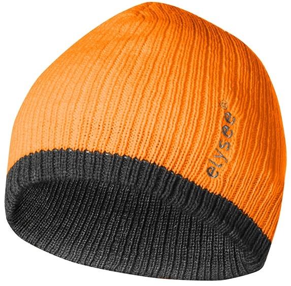 F-ELYSEE Thinsulate-Warn-Schutz-Mütze, GEORG, fluoreszierend oran