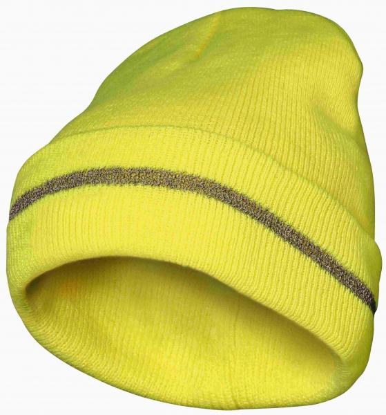 FELDTMANN Thinsulate-Warn-Schutz-Mütze, ERWIN, fluoreszierend gel