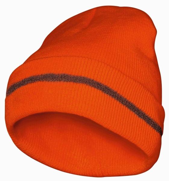 FELDTMANN Thinsulate-Warn-Schutz-Mütze, RUDI, fluoreszierend oran