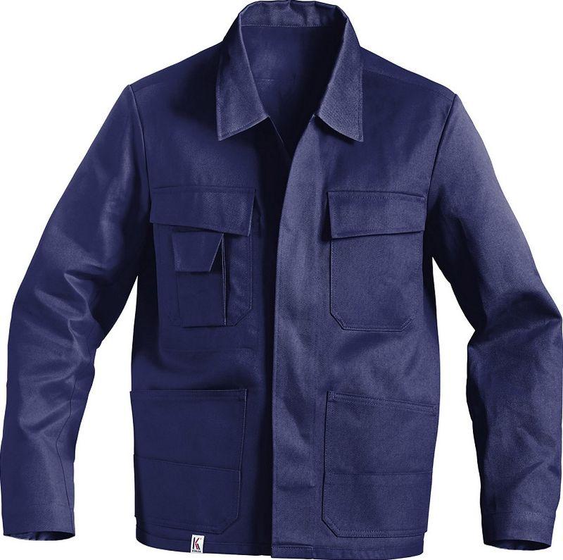 KÜBLER-Workwear-Arbeits-Berufs-Bund-Jacke, Quality Dress, BW 285, hydronblau