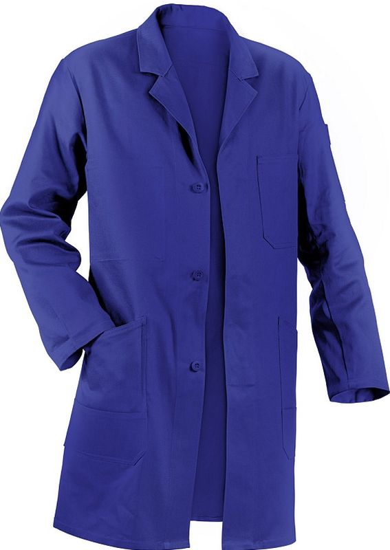 KÜBLER-Workwear-Berufs-Mantel, Arbeits-Kittel, Quality Dress, BW220/285, kornblau