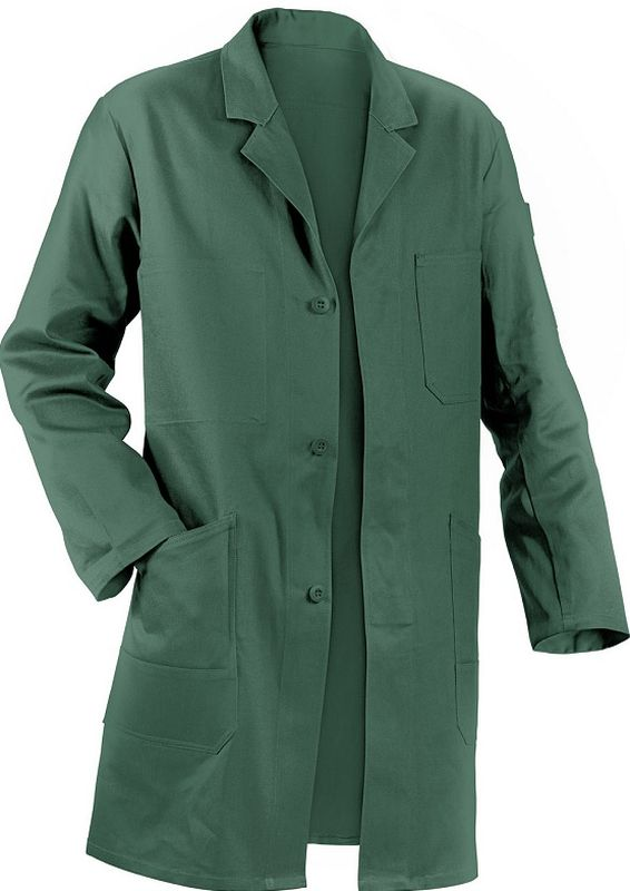 KÜBLER-Workwear-Berufs-Mantel, Arbeits-Kittel, Quality Dress, BW220/285, moosgrün