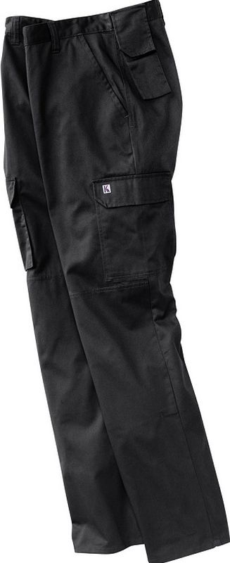 KÜBLER-Workwear-Arbeits-Berufs-Bund-Hose Eco Plus-Dress, MG 270, schwarz