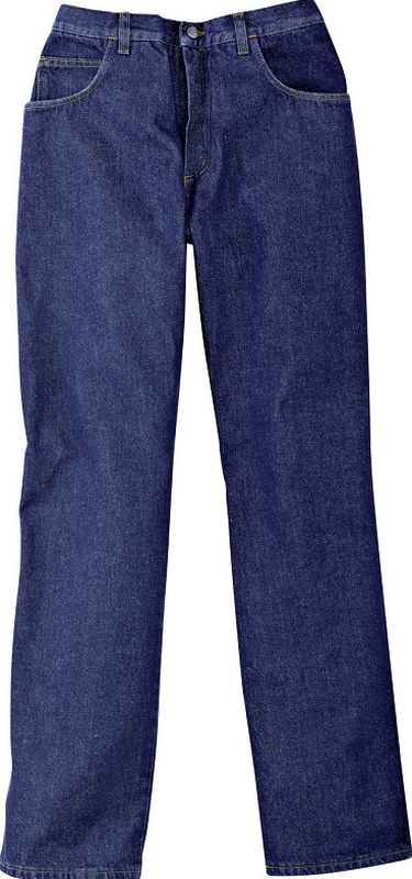 KÜBLER-Workwear-Arbeits-Berufs-Bund-Hose, Jeans, Young Dress, blau