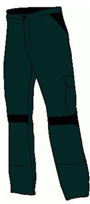 KÜBLER--Workwear-Damen-Arbeits-Berufs-Bund-Hose, Inno Plus Dress, MG 300, anthrazit/schwarz